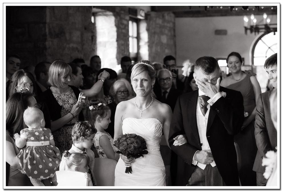 wedding ceremony at ravenhall
