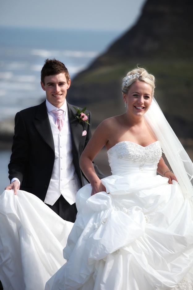 rushpool hall wedding photography, saltburn
