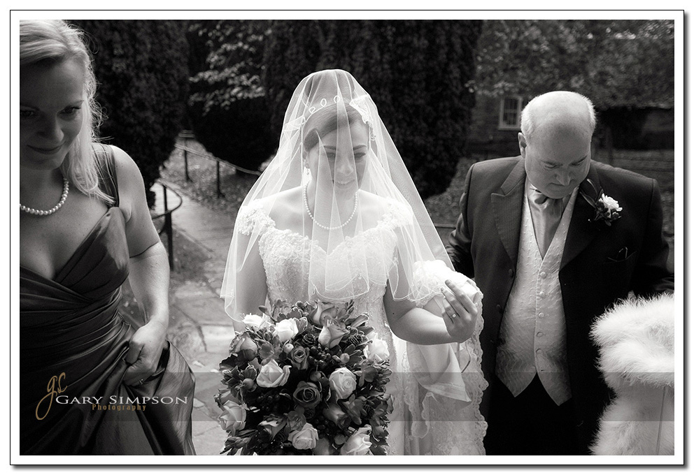 Pickering wedding photography at St Peters church