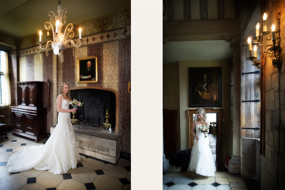 yorkshire wedding photography at the treasure's house