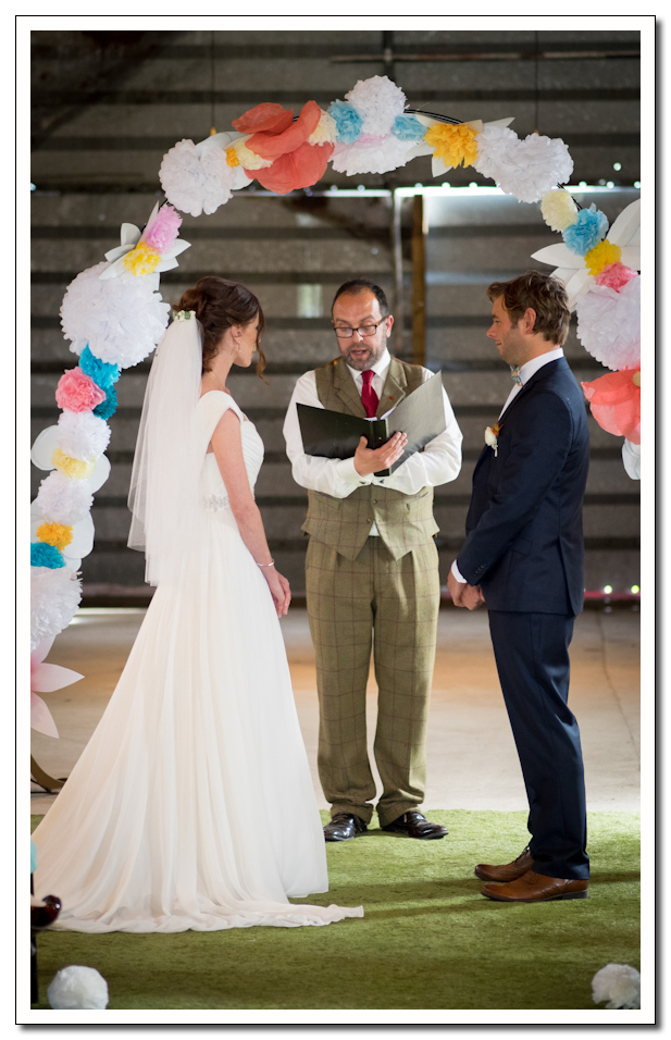wedding photography at the corn shed