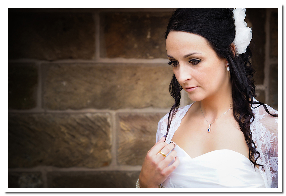 a country wedding in whitby at the stables