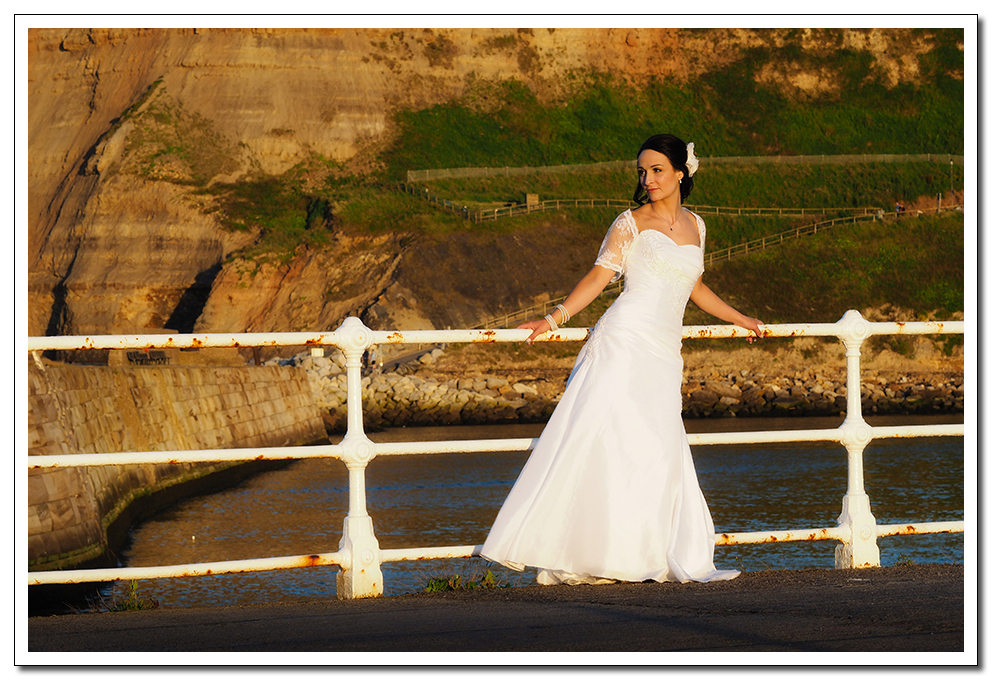 whitby wedding photography at crosbutts stables