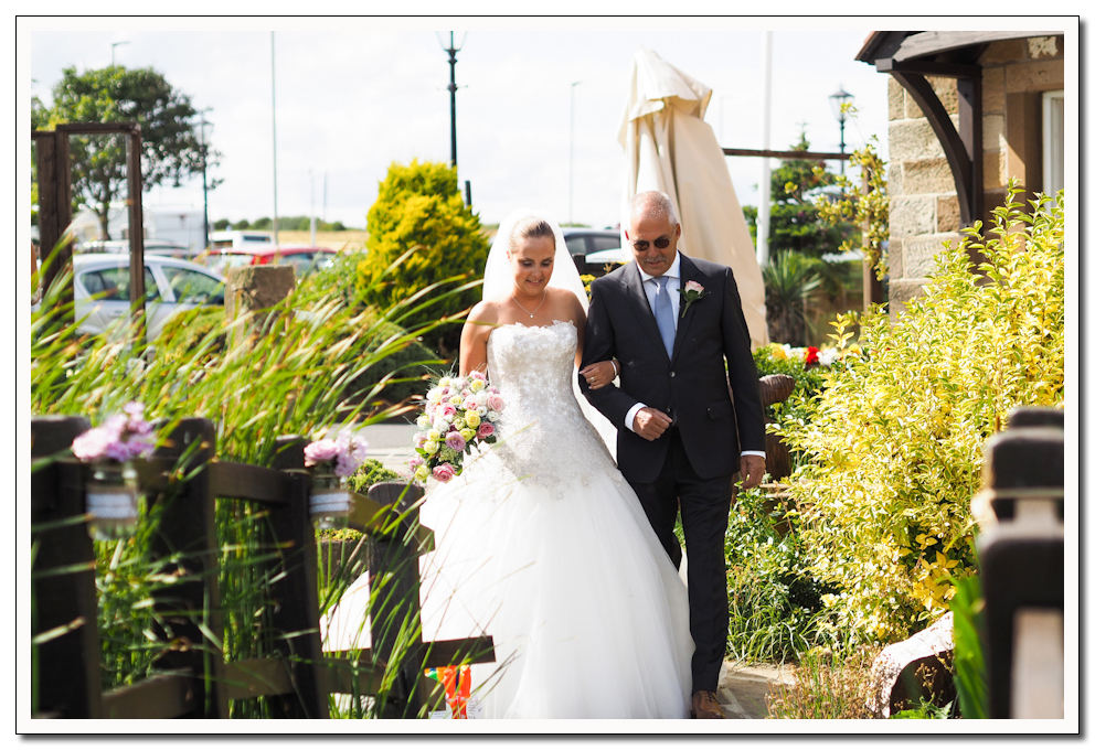 wedding at the stables, whitby