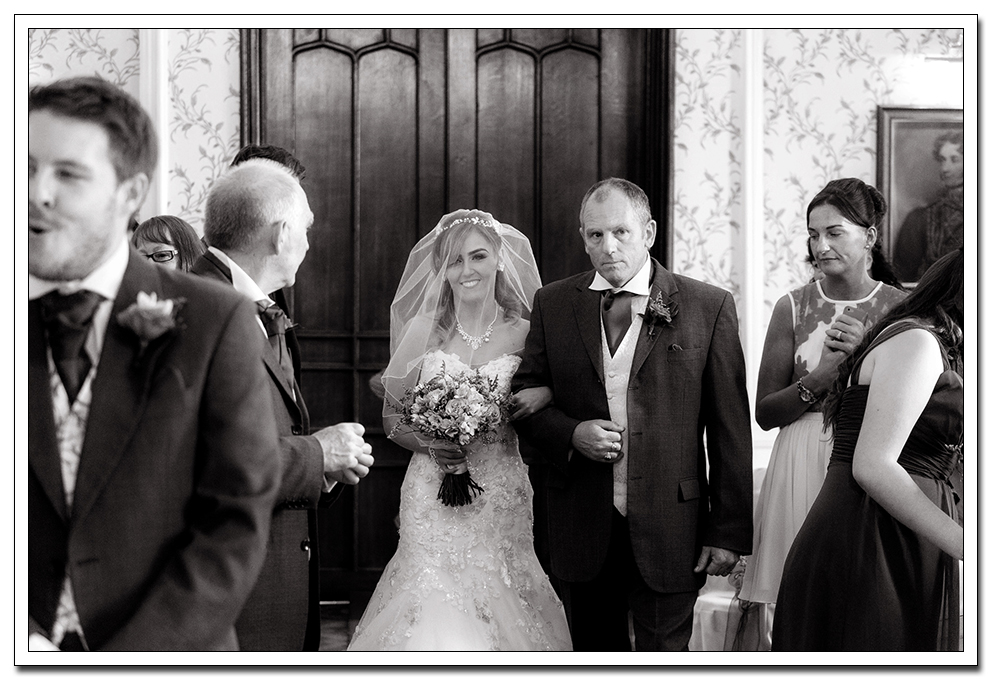 wedding at rowton castle