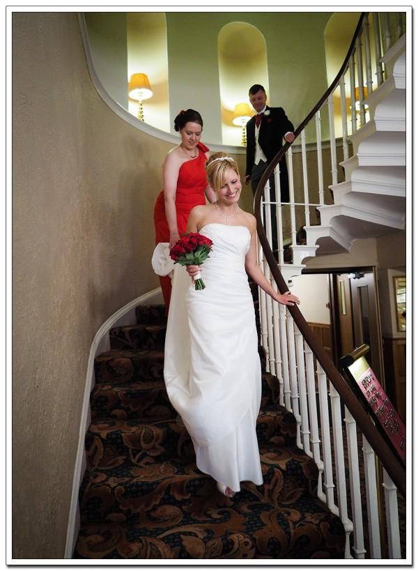 wedding at ravenhall wedding