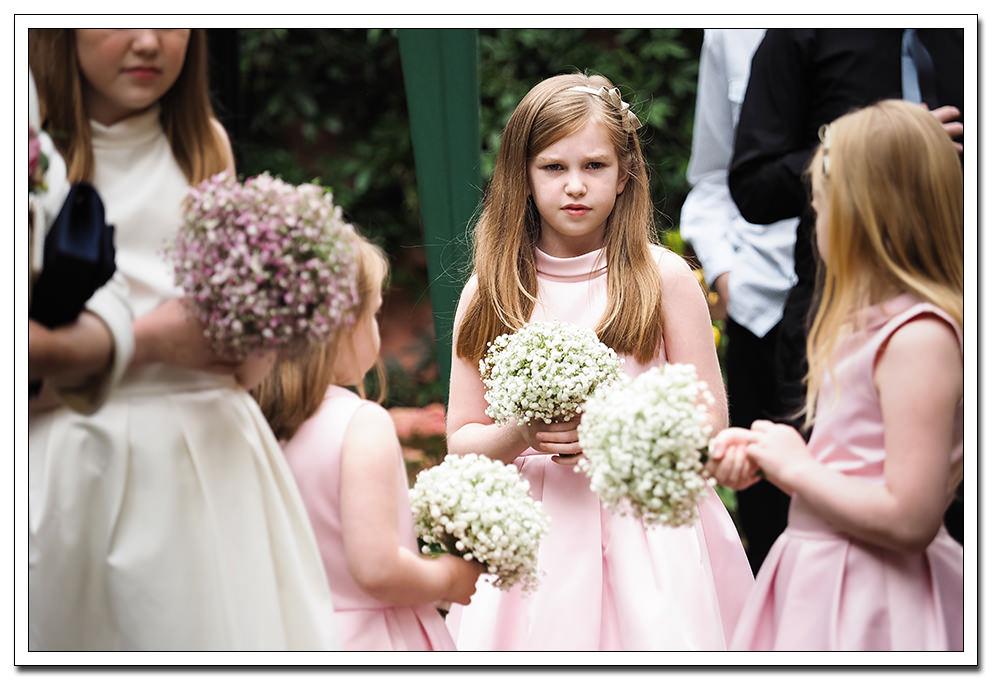 bridesmaids at the merchants hall