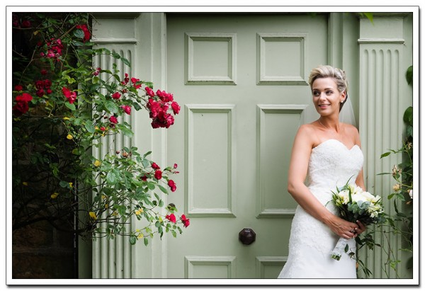 bridal portrait at oxpasture hall, scarborough
