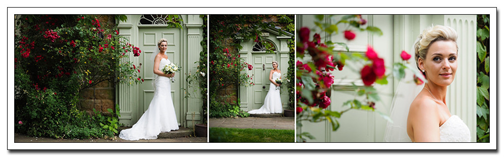 bridal portrait at oxpasture hall, scarborough
