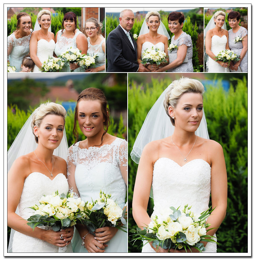 bride & bridesmaids - oxpasture hall