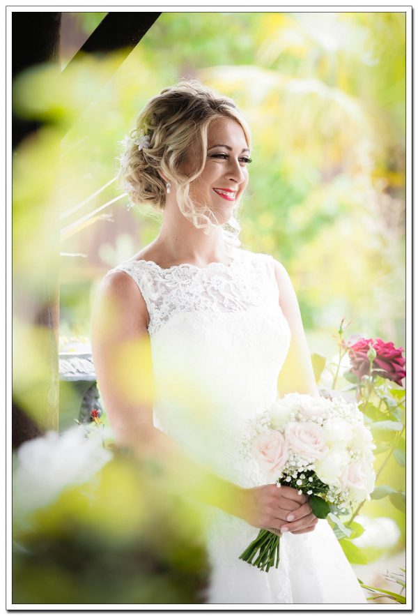 bride portrait at oxpasture hall