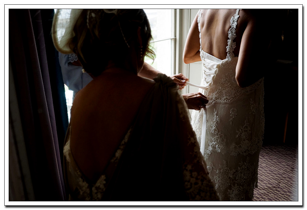 bridal preparation at the royal hotel