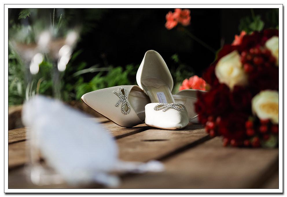 bridal preparation at the ellerby