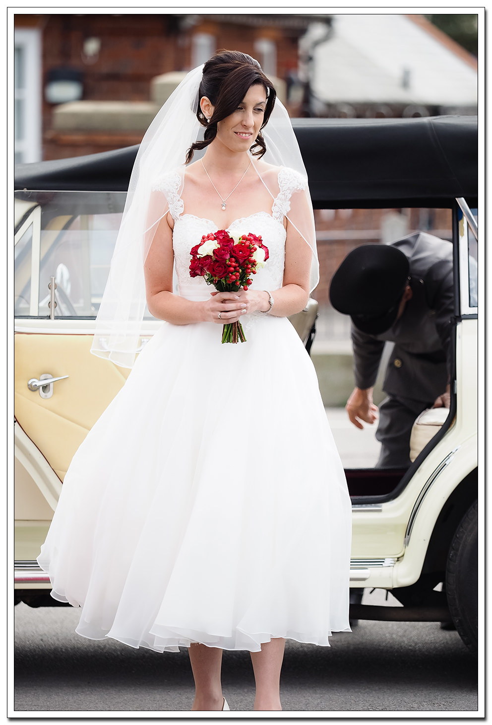 bride at whitby registry office