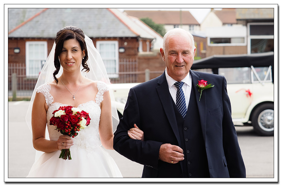 father of the bride at whitby registry office