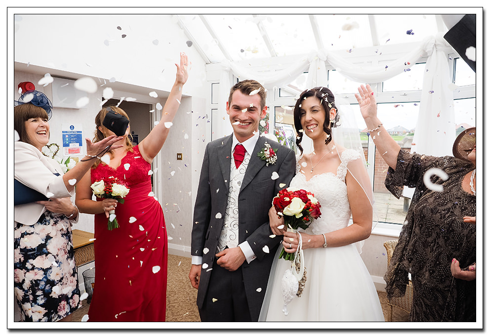 confetti at whitby registry office