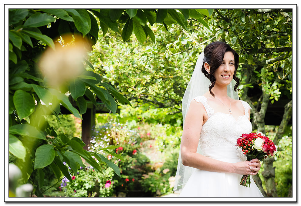 bridal portrait at the ellerby hotel