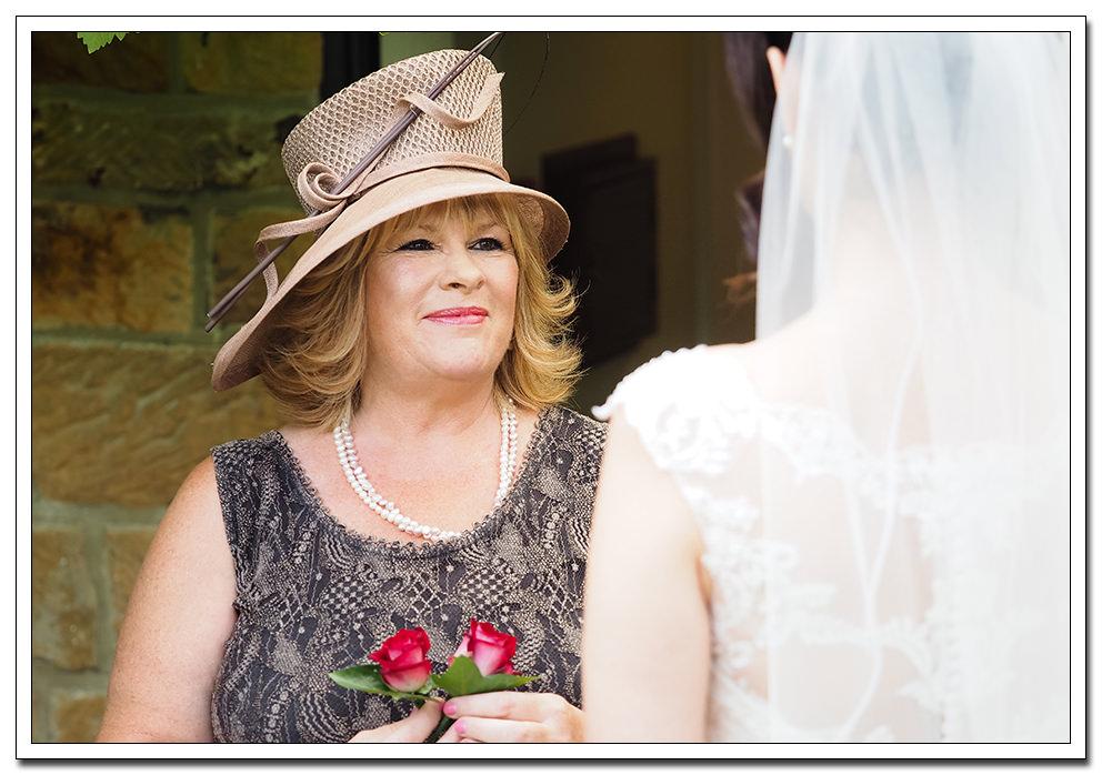 wedding at the ellerby - brides mum
