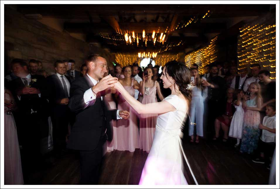 couples first dance at ravenhall