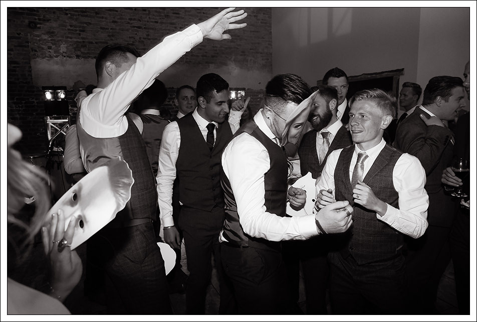 groom and first dance at hornington manor