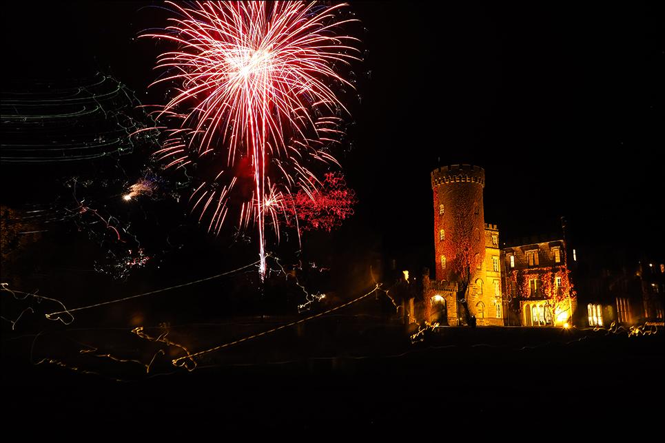 firework display at swinton park
