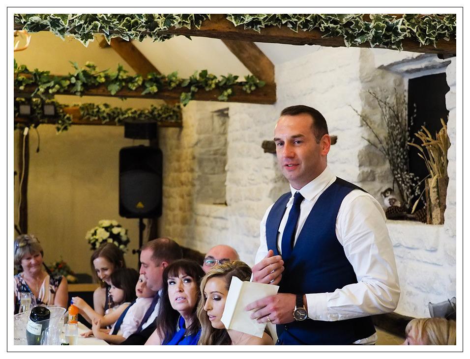 grooms speech at crossbutts