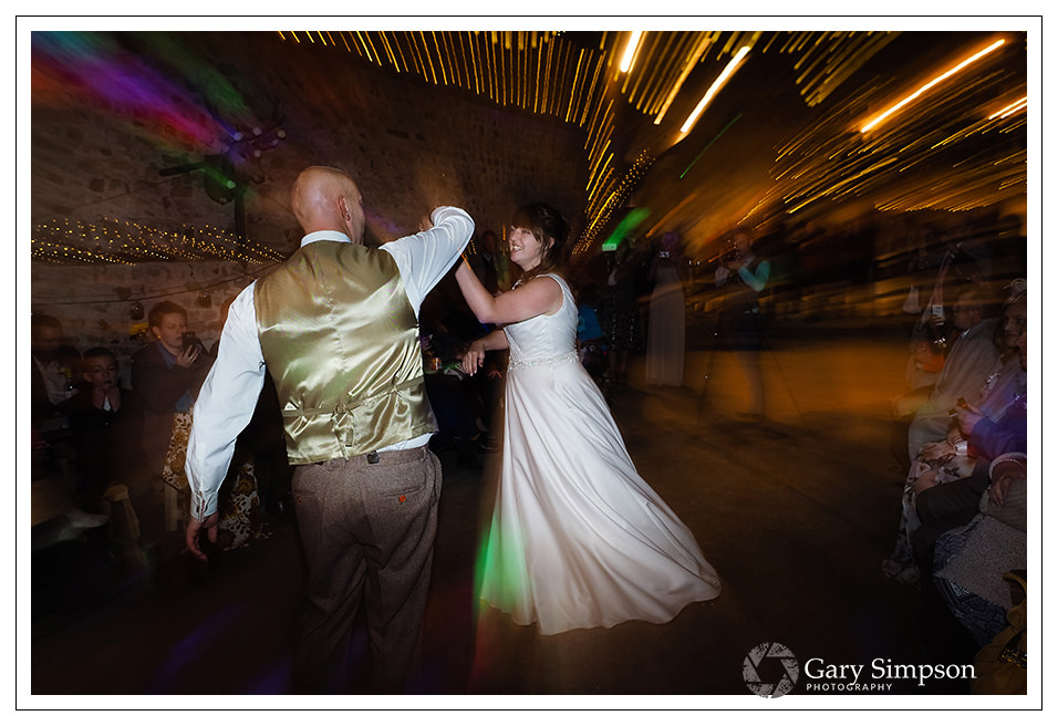 bride & grooms first dance at camp katur