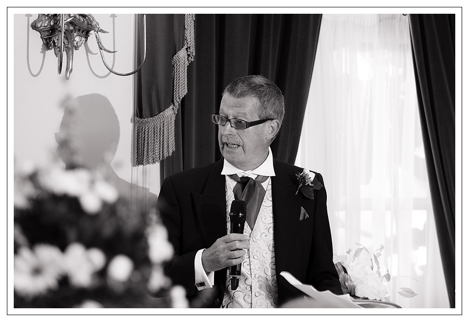 father of the bride speech at York pavilion Hotel