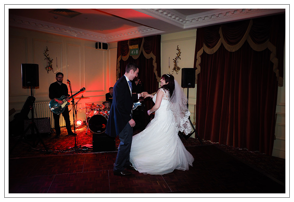 The couples first dance at The pavilion Hotel in York