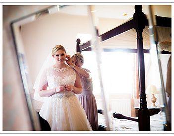 bridal preparations at rushpool hall hotel
