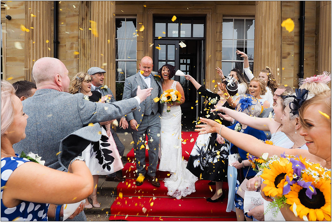 confetti at oulton hall