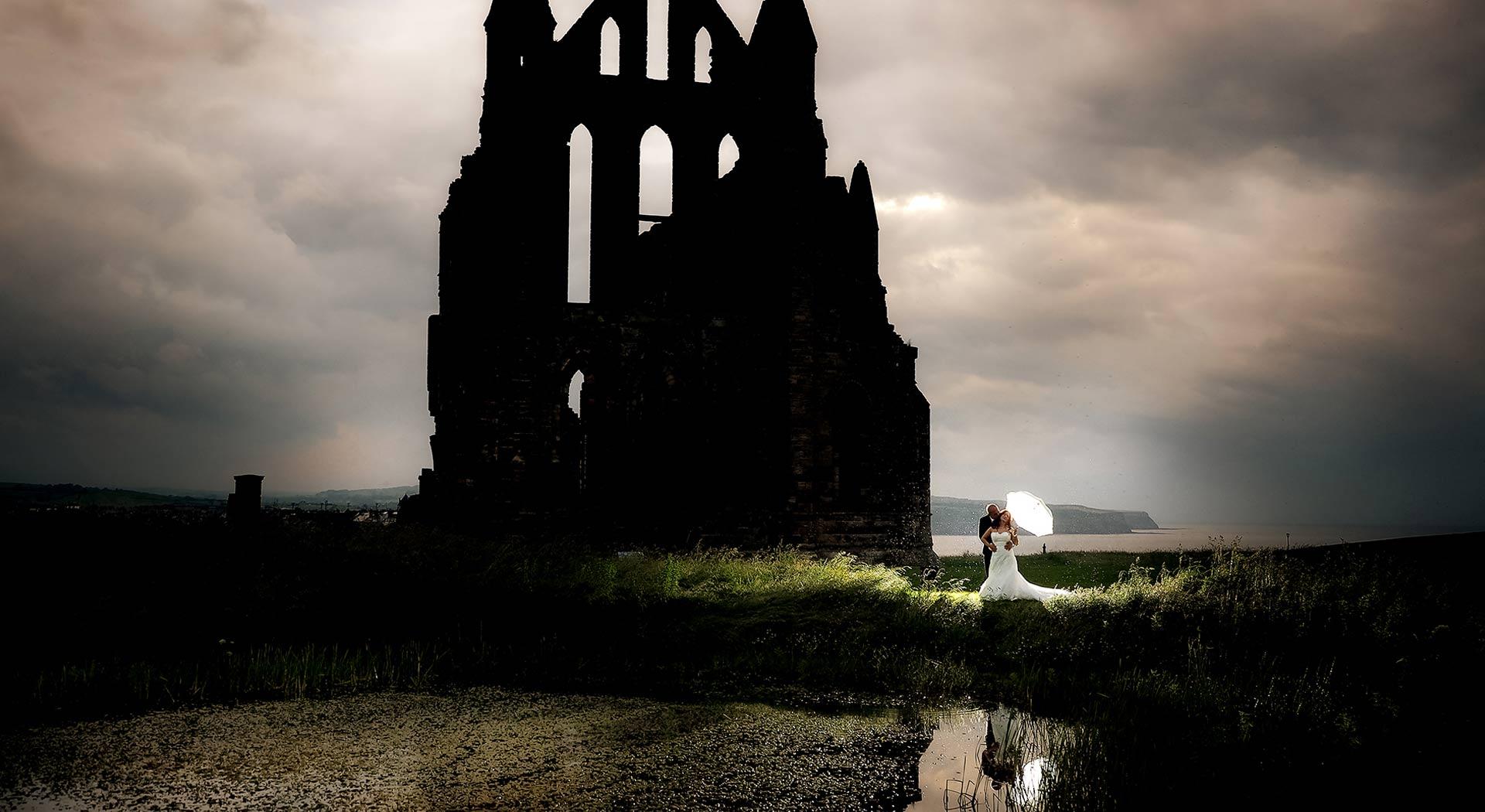 whitby abbey wedding