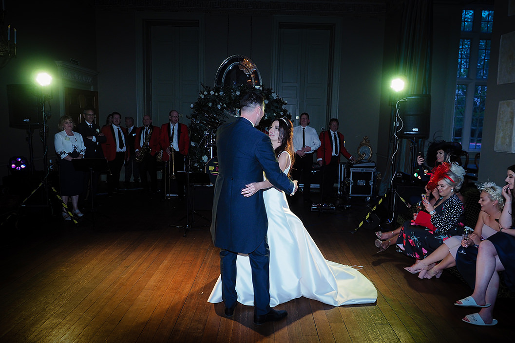 first dance at howsham hall
