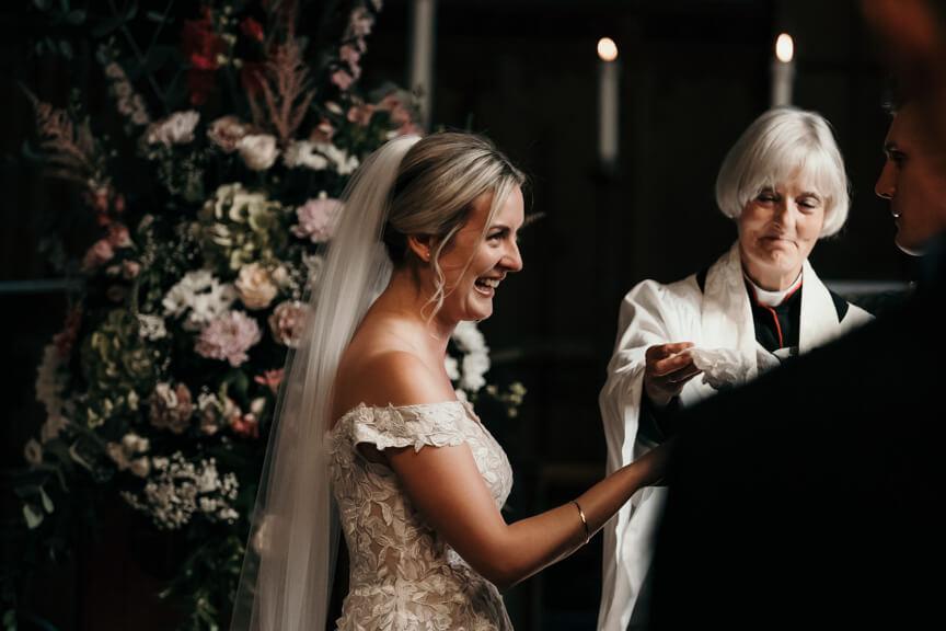 wedding at ravenhall